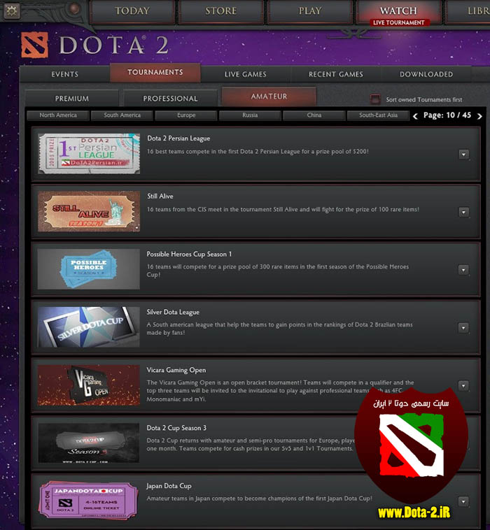 Dota 2 Persian League ticket2