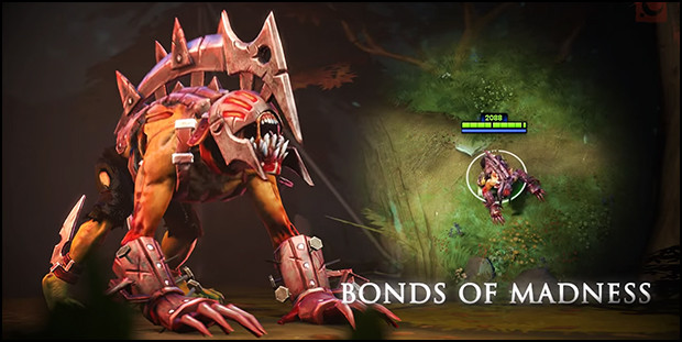 bonds of madness set dota2